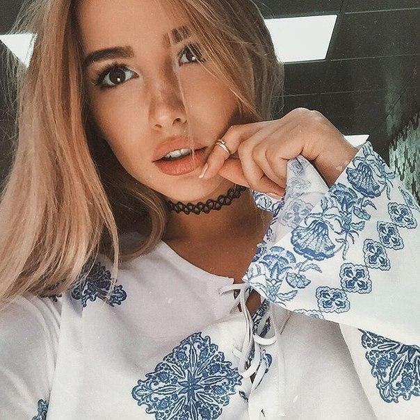 Красивые и милые фото девушек из соцсетей - смотреть бесплатно 6