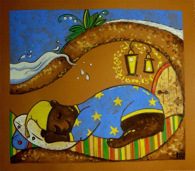Медведь в берлоге картинки для детей - красивые и прикольные 5