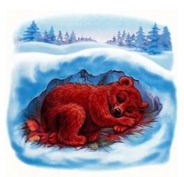 Медведь в берлоге картинки для детей - красивые и прикольные 7