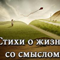Стихи о жизни со смыслом - до слез, красивые стихи о жизни - читать бесплатно 8