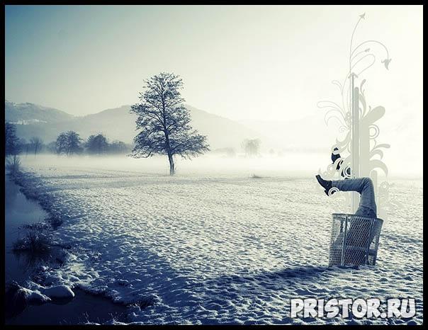 Фото снега и льда в природе, красивые фото льда и снега - природа 12