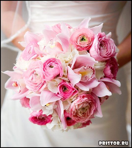 Красивые свадебные букеты для невесты - фото 5