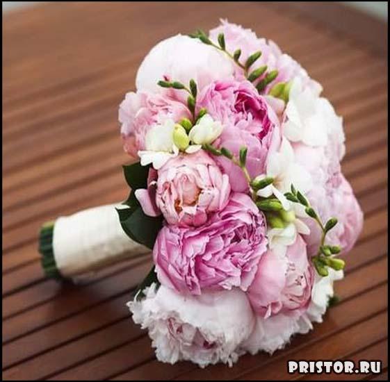 Красивые свадебные букеты для невесты - фото 2