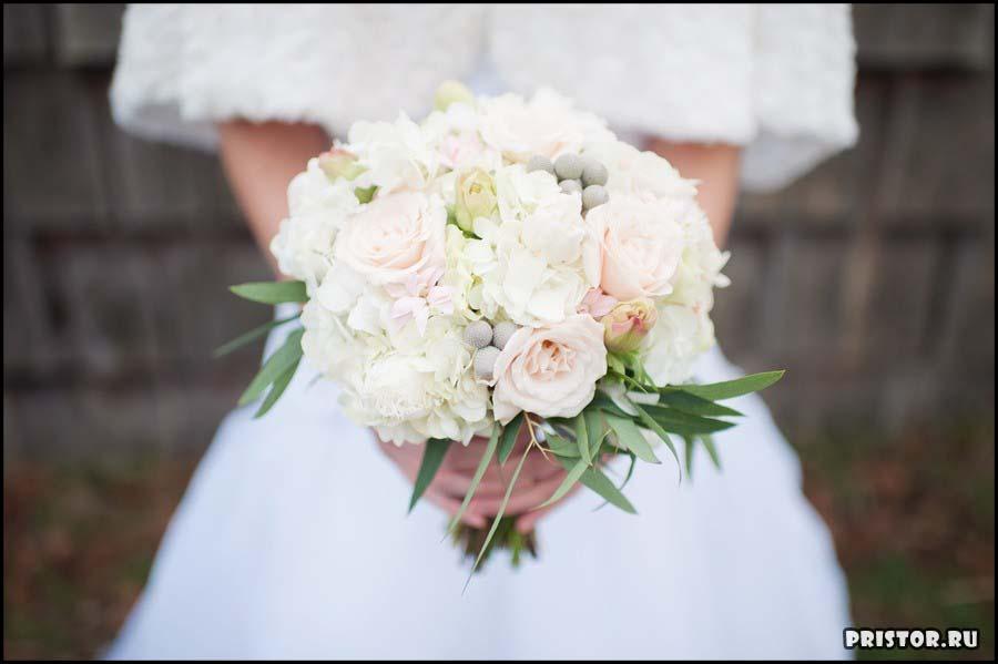 Красивые свадебные букеты для невесты - фото 4