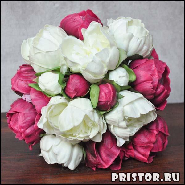 Красивые свадебные букеты для невесты - фото 3