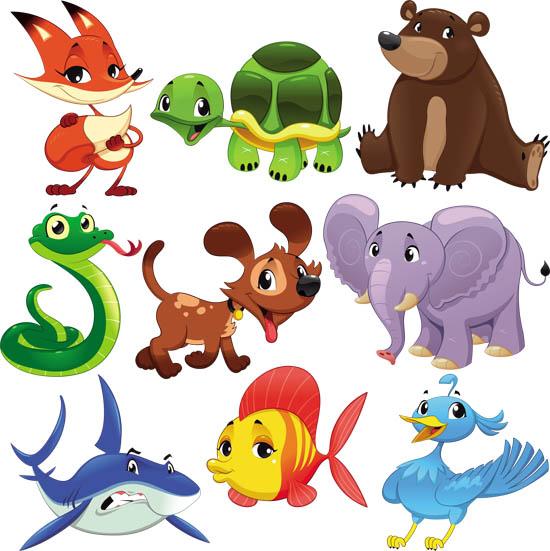 Детские картинки животных для детского сада - красивые и прикольные 14