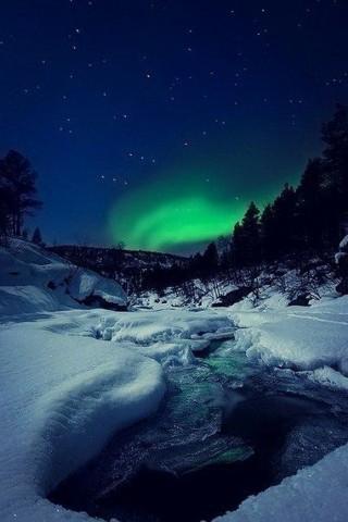 Зимние картинки на телефон - красивые, прикольные скачать бесплатно 12