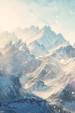 Зимние картинки на телефон - красивые, прикольные скачать бесплатно 18