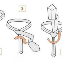 Как завязать галстук пошагово - фото, простой способ, видео 1