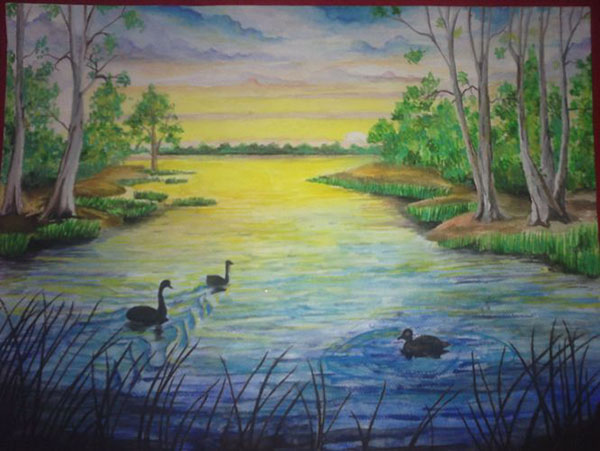 Природа картинки нарисованные, охрана природы картинки красивые 15