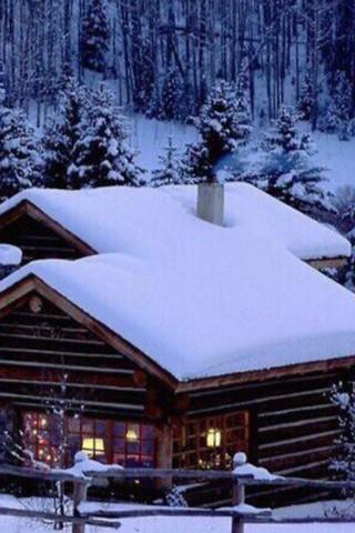 Картинки зима на телефон - красивые и прикольные скачать бесплатно 12