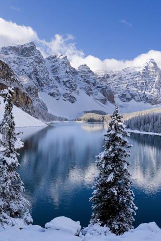 Картинки зима на телефон - красивые и прикольные скачать бесплатно 7