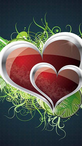 Красивые картинки на телефон бесплатно про любовь - смотреть, скачать 25