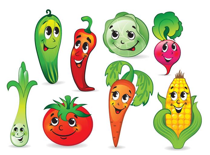 Овощи и фрукты картинки для детей - прикольные и красивые 15