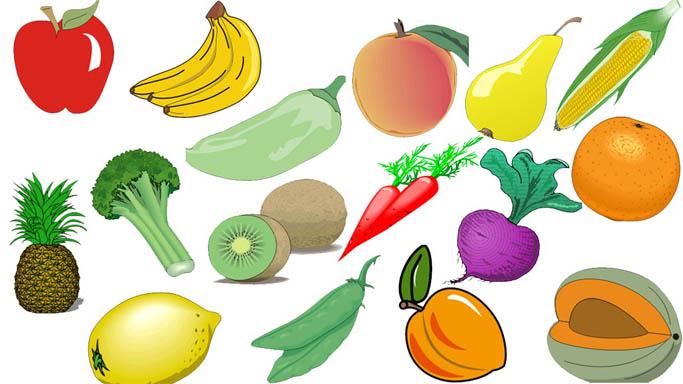 Овощи и фрукты картинки для детей - прикольные и красивые 18