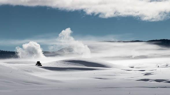 Очень красивые картинки зима природа, фото природы зимы - смотреть 13