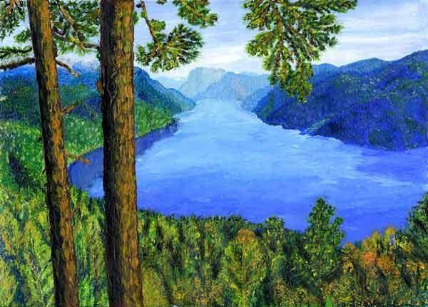 Природа картинки нарисованные, охрана природы картинки красивые 3