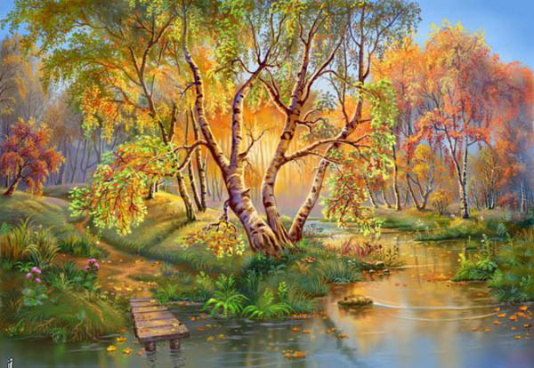 Природа картинки нарисованные, охрана природы картинки красивые 4