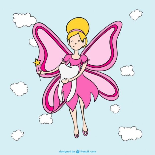 Зубная фея картинки - для детей, прикольные, красивые, крутые 7