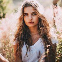 Прикольные фото девушек на пляже - красивые, милые, удивительные 6