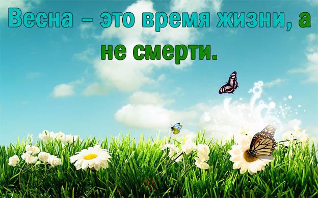 Цитаты про весну - красивые цитаты, со смыслом, высказывания и фразы 10