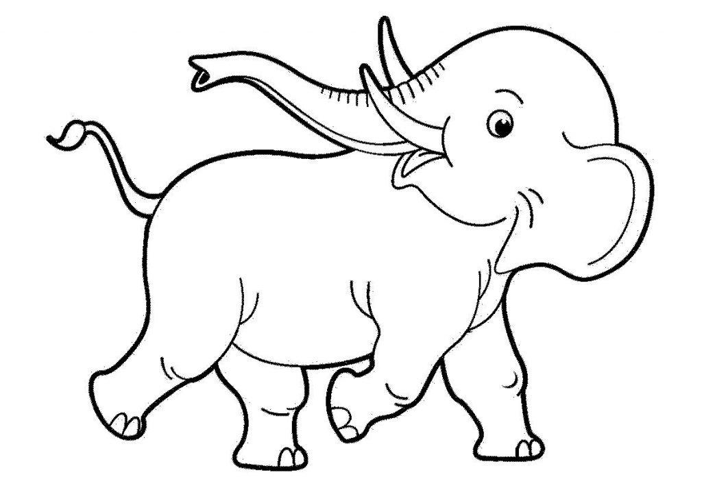 Черно белые картинки животных для детей - смотреть бесплатно 8