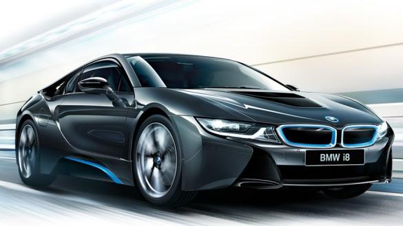 BMW i8 - красивые фото, картинки и фото салона автомобиля 7