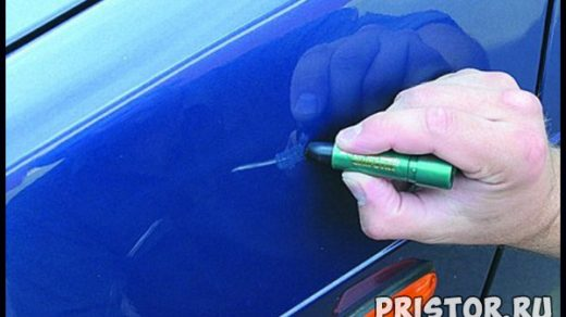 Как убрать царапину на машине своими руками - быстро и эффективно 2
