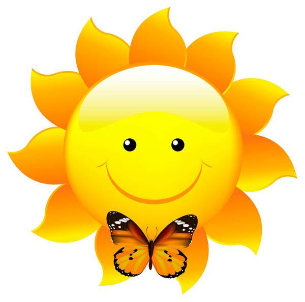 Картинка солнышко для детей - красивые, прикольные, интересные 3
