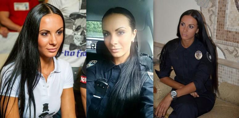 Красивые девушки в форме полиции - смотреть фото бесплатно 4