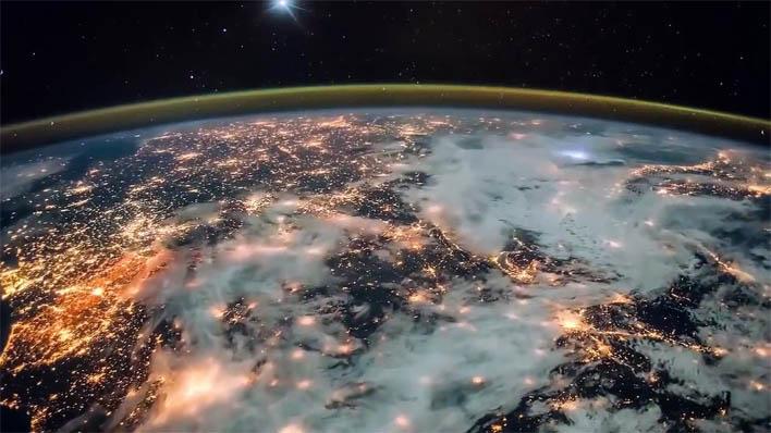 Красивые картинки земли из космоса - для детей, прикольные 12