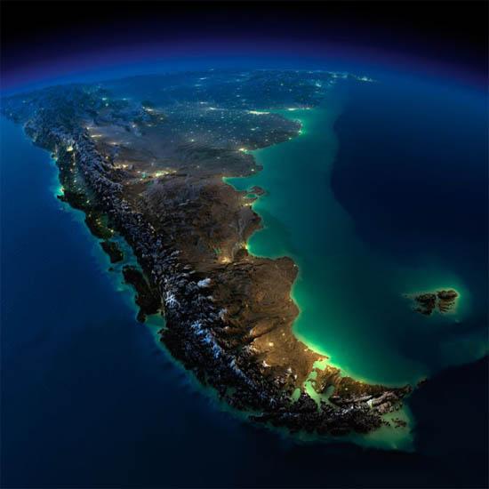 Красивые картинки земли из космоса - для детей, прикольные 4