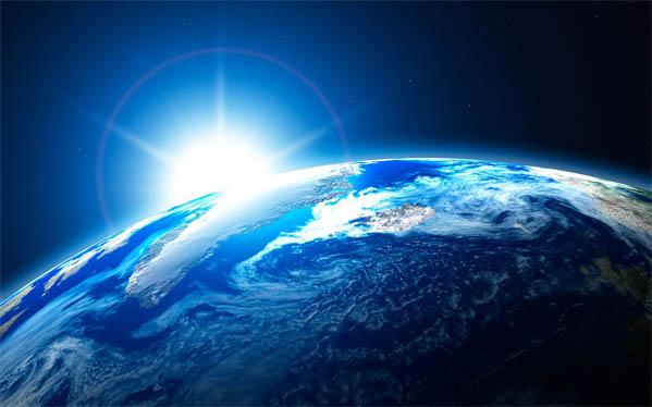 Красивые картинки земли из космоса - для детей, прикольные 5