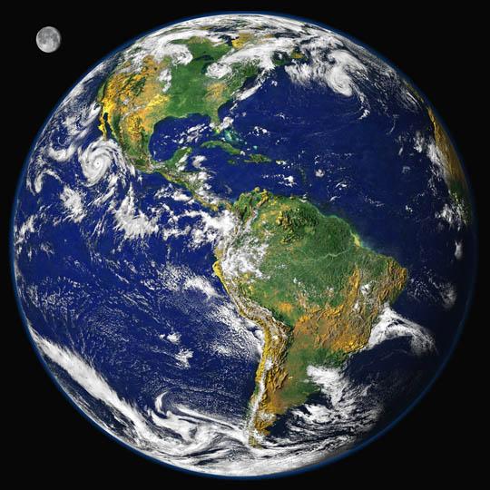 Красивые картинки - планета Земля для детей, смотреть бесплатно 1