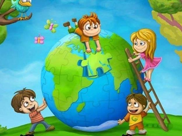 Красивые картинки - планета Земля для детей, смотреть бесплатно 10