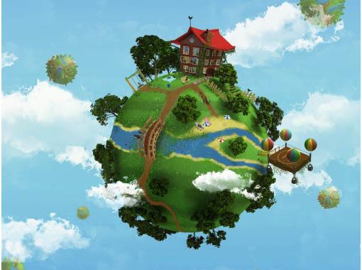 Красивые картинки - планета Земля для детей, смотреть бесплатно 8