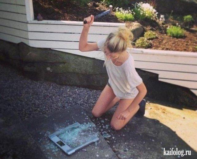 Смешные фото приколы про пьяных девушек - смотреть бесплатно 6