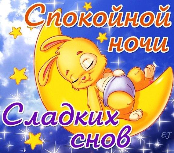 Спокойной ночи картинки - прикольные, смешные, красивые 1