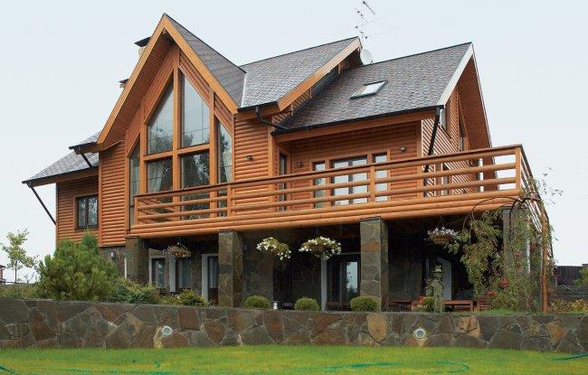 Удивительные и красивые деревянные дома - фото, картинки 3
