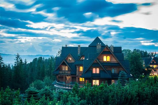 Удивительные и красивые деревянные дома - фото, картинки 5