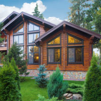 Удивительные и красивые деревянные дома - фото, картинки 6