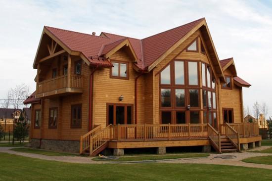 Удивительные и красивые деревянные дома - фото, картинки 7