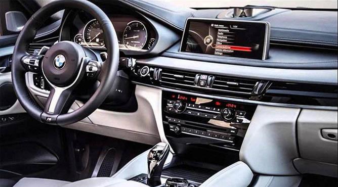BMW x5 2017 года - новая модель, фото, красивые, салон 8
