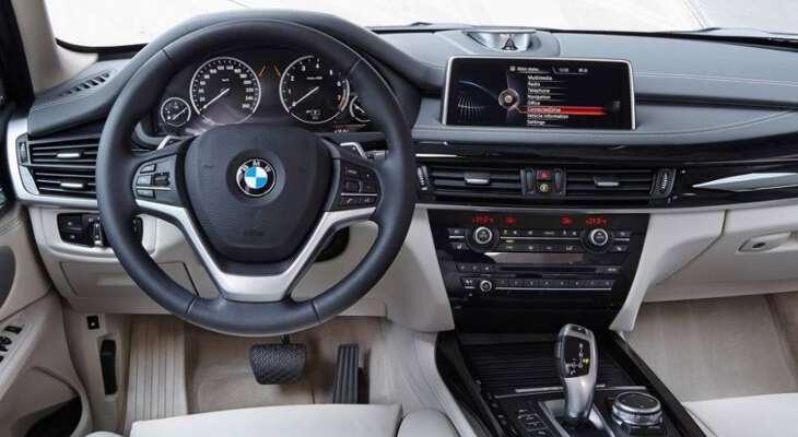 BMW x5 2017 года - новая модель, фото, красивые, салон 9