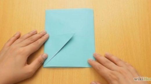 Как сделать конверт из листа А4 - своими руками пошагово 4