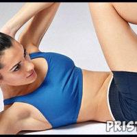 Как убрать складки на животе и боках - упражнения, диета