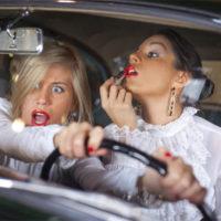 Женщина за рулем фото - веселые, забавные, смешные 3