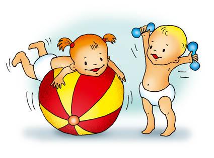 Здоровый образ жизни - картинки для детей, красивые, прикольные 4