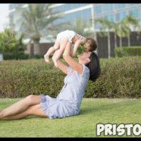 Как быстро похудеть после родов в домашних условиях 1