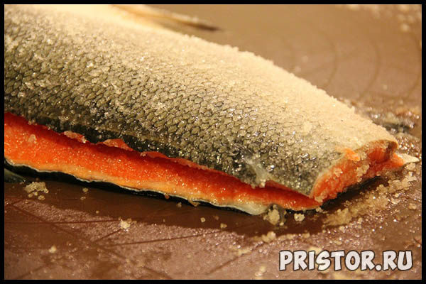 Как вкусно засолить красную рыбу в домашних условиях 2